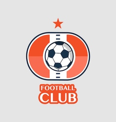 Football Badge 9 vector
