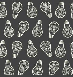 Light bulb pattern eureka lamp new idea vector