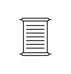papyrus icon vector image