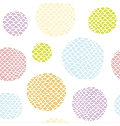 Pop art doodle seamless background pattern vector image
