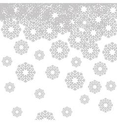 Snowflake shape icon vector