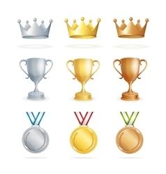 Awards Set vector image vector image