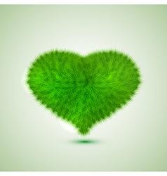green hert Eps10 vector image vector image