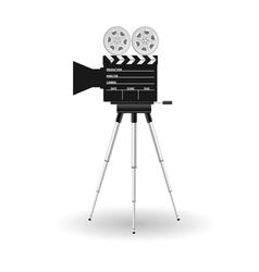 Camera film tape vector