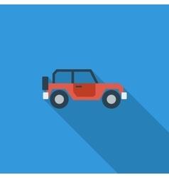 Offroad car vector image vector image