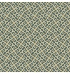 Ethnic seamless pattern with swirls Stylized vector image