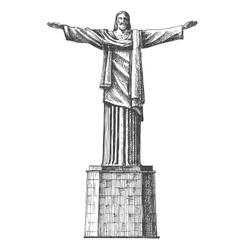 Brazil logo design template architecture vector image vector image