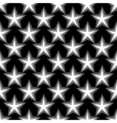 Star geometric seamless pattern 4808 vector image vector image