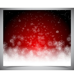 Abstract winter backgound vector
