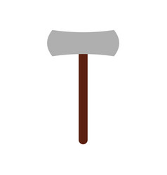 Ax icon on white background vector