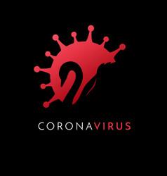 Black swan coronavirus covid19 19 vector