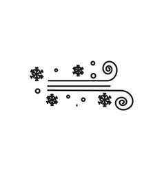 Blizzard icon vector