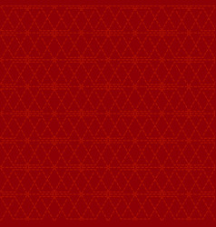 dotted line geometric seamless pattern red vector image