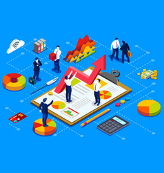 Financial administration concept vector