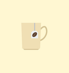 flat icon coffee capsule element vector image