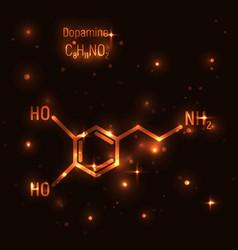 Gold molecule dopamine vector