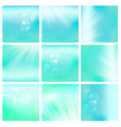 Light blue sky or water blur vector
