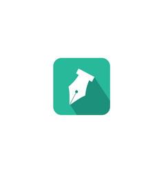 pencil icon symbol logo vector image