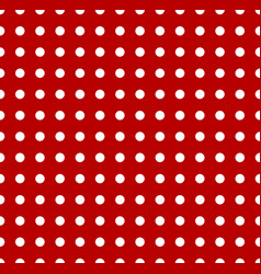 Polka dots pattern seamlessly repeatable dotted vector