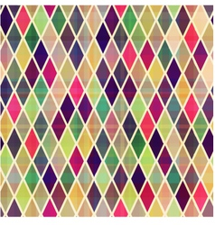 Seamless rhombus geometric pattern vector