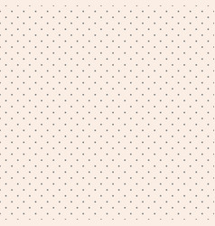 Simple repeatable dotted background polka dot vector