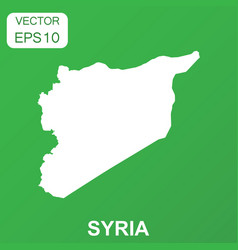 Syria map icon business concept syria pictogram vector