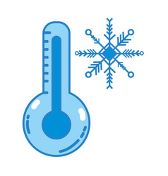 Thermometer measure instrument to know the vector