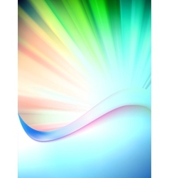 Colorful abstract background template EPS 10 vector image
