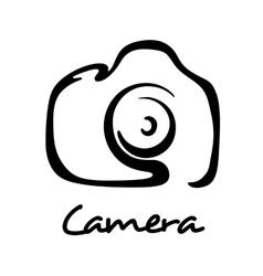 Digital camera icon vector image vector image