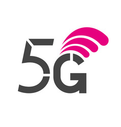 5g symbol 5g internet new technology network vector