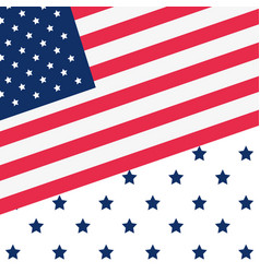 American flag national background pattern vector