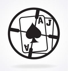 Blackjack sniper scope target crosshair vector