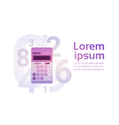 Calculator banking accountant finance business vector