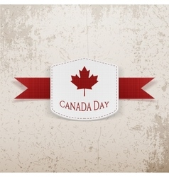 Canada Day Sale modern graphic Tag vector image