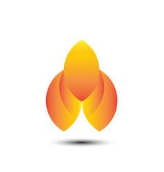 eco water drop business company logo vector image