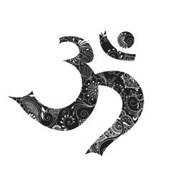 omkara symbol vector image