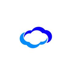 sky logo vector image