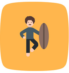 Surf icon vector