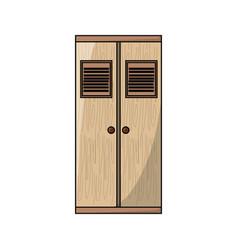 wardrobe icon image vector image