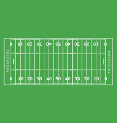 American football field background rugby stadium vector