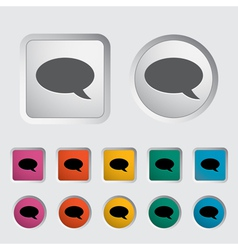 Chat icon 2 vector image