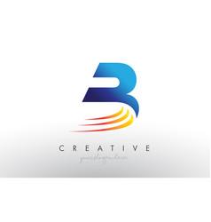 Creative corporate b letter logo icon design with vector