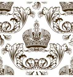 decorative imperial design vector image