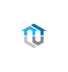 House realty company logo vector