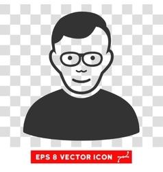 Pensioner eps icon vector