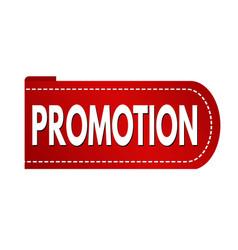 promotion banner design vector image