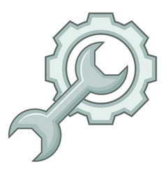 service tool icon cartoon style vector image