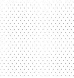 simple seamless dotted pattern polka dot vector image