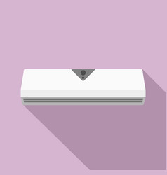 small conditioner icon flat style vector image