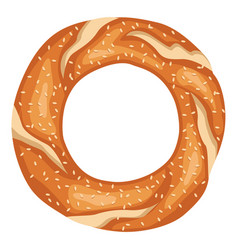 Turkish bagel vector